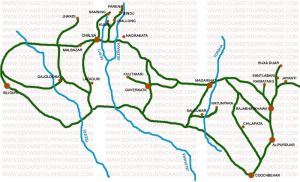map-dooars
